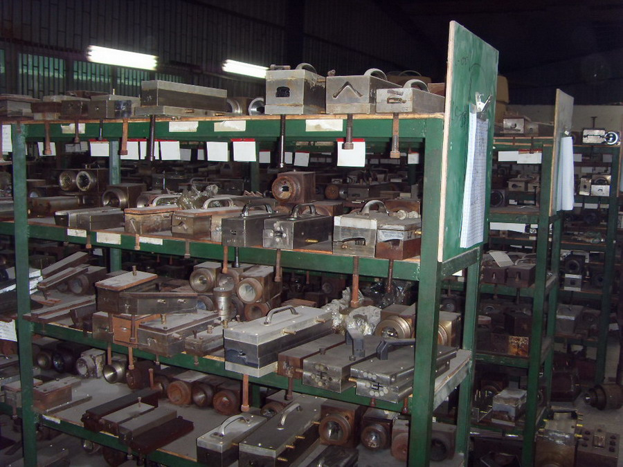Moulds in Warehouse