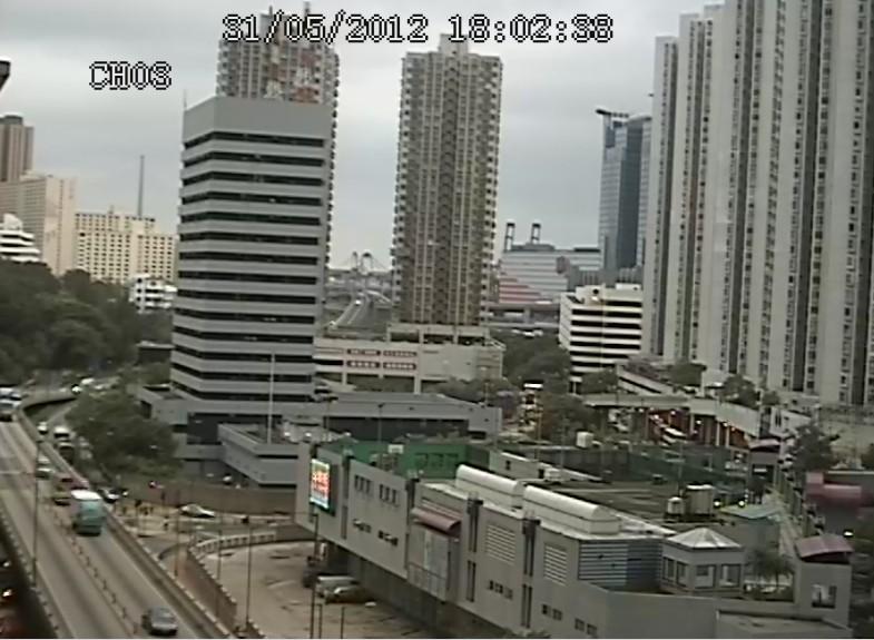 600TVL CCTV Camera Effect