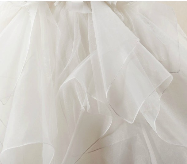 Organza Fabric Edge Workmanship