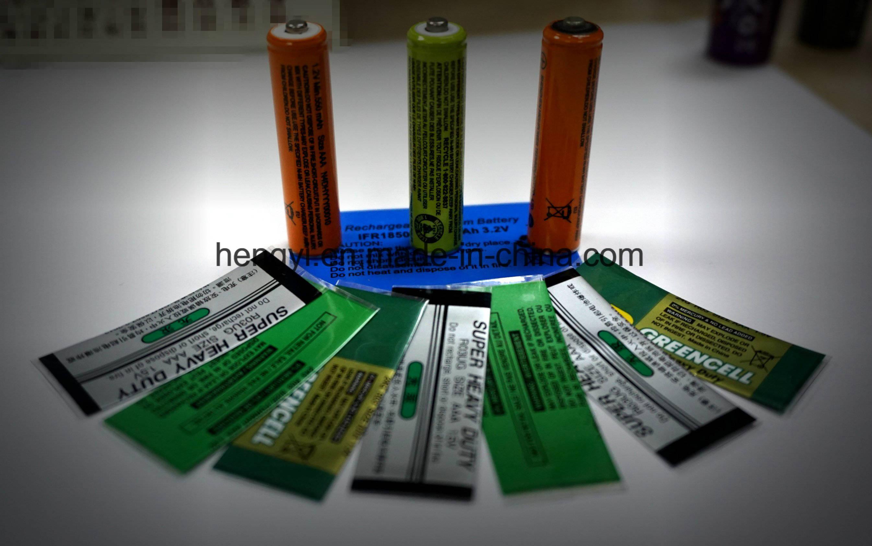 Battery Shrink Label