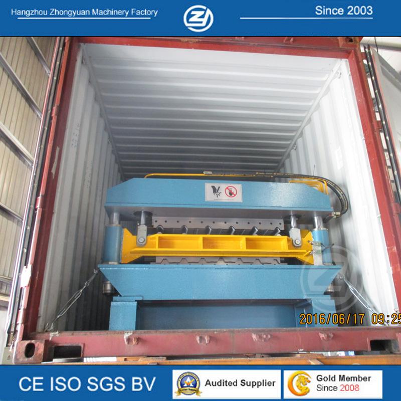 ZYYX25-200-1000&YX32-150-900 Double Layer machine shipped to Nigeria