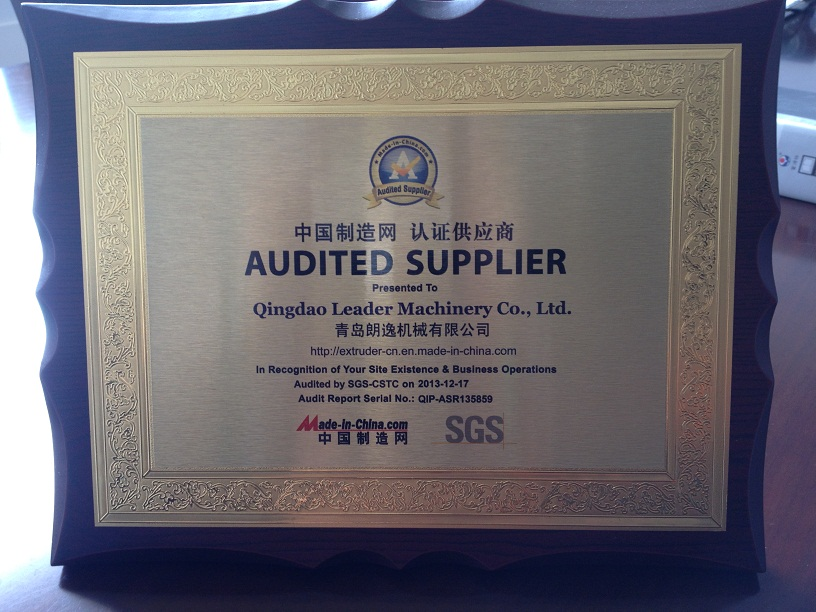 SGS certifications