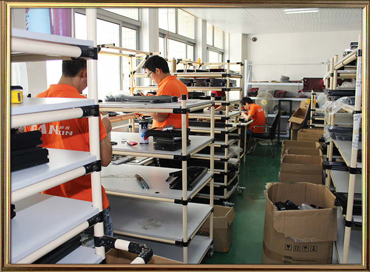 Led clock assembly shop