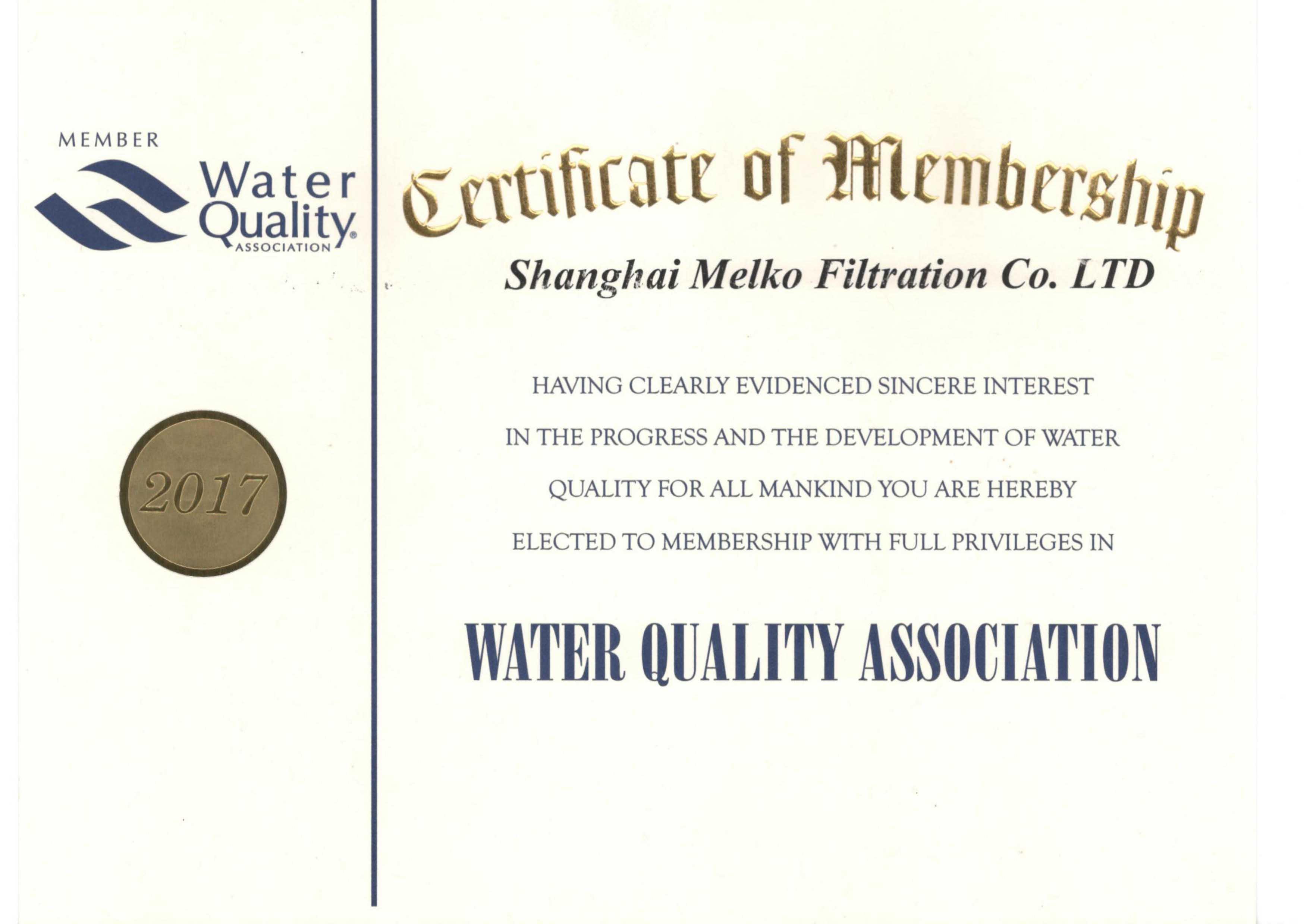WQA Membership