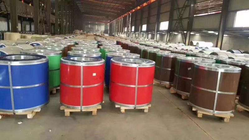 Supply PPGI/PPGL/GI/GL Steel coils and roofing sheet from Yehui steel