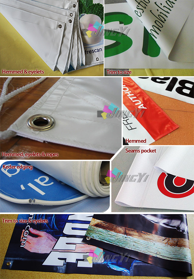Finishings of PVC Banners