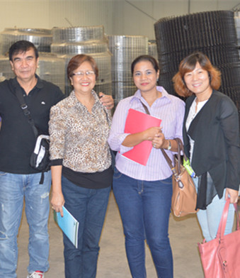 broiler chicken equipments clients from Philippines