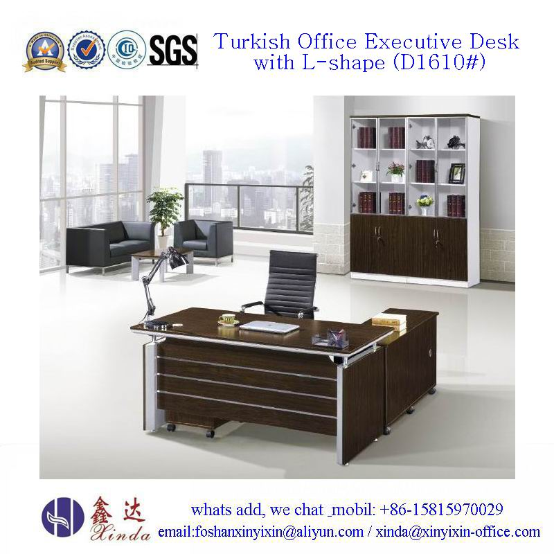Turkish Office Executive Desk Wooden Office Furniture