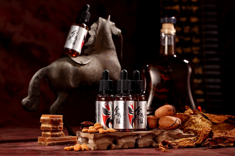 A Sworn of King/Remy Martin Cognac and Tobacco Mixed Flavor E-liquid