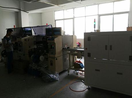 Automatic chip mounter machine