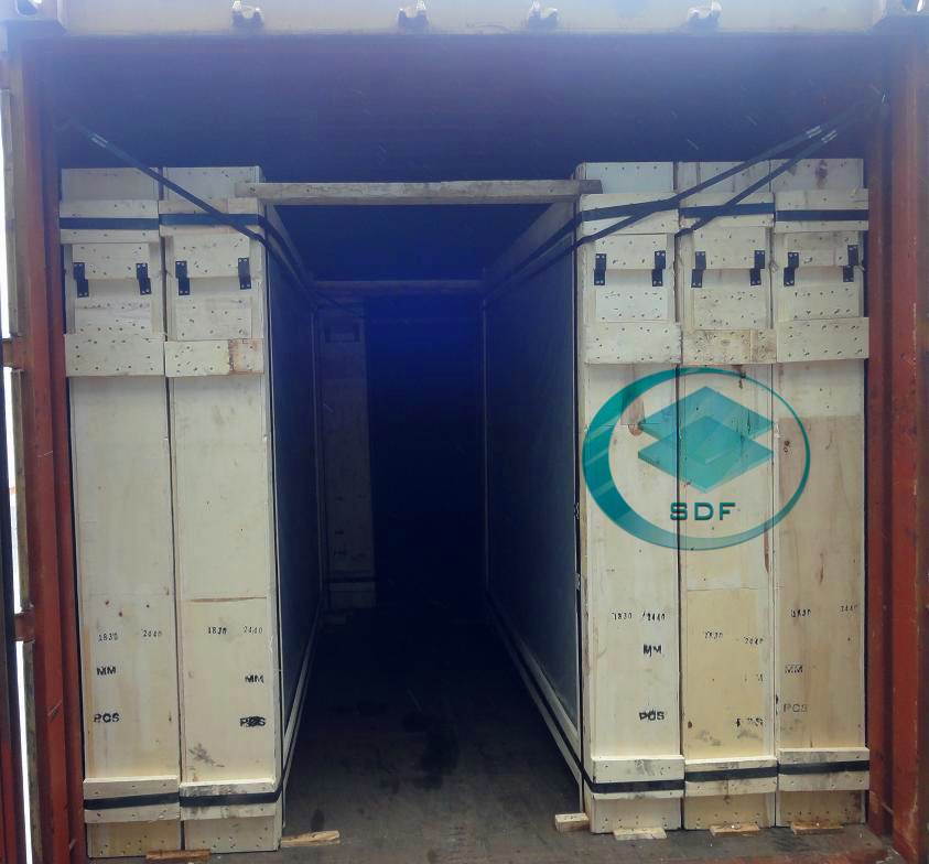Loading for 20'GP 1830MMX2440MM