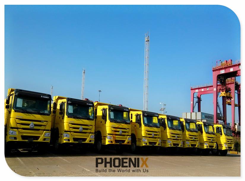 HOWO Trucks to Kenya
