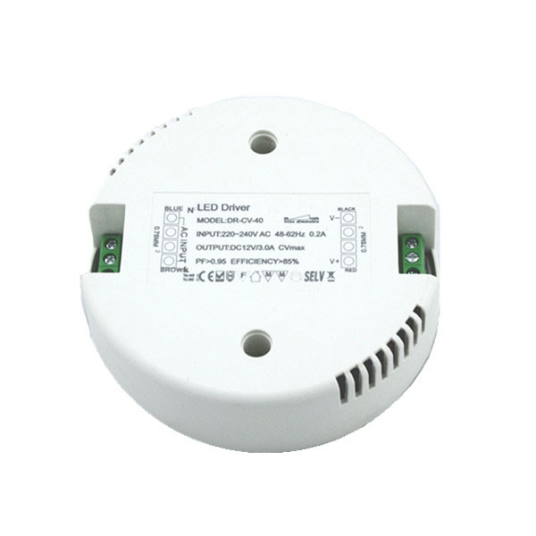 Dimmable 40W Triac Round LED Driver