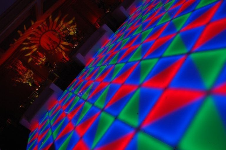 64 Square Meter Led Dance Floor Project In USA