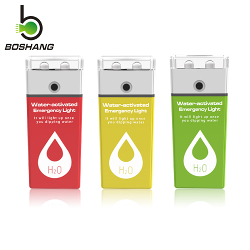 Bossang water-activated emergency light JS-4 (with replacement magnesium-air batteries)