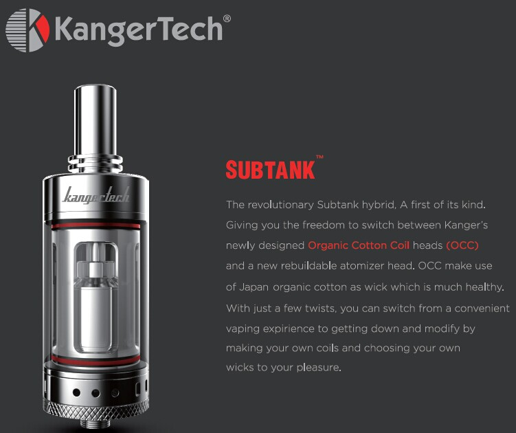 Kanger Subtank is releasing
