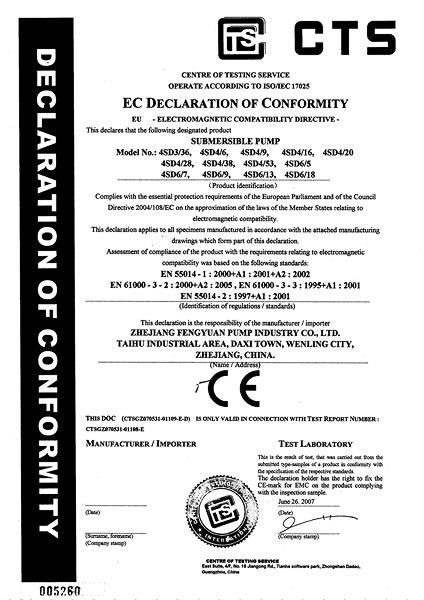 CE Certificates(01)