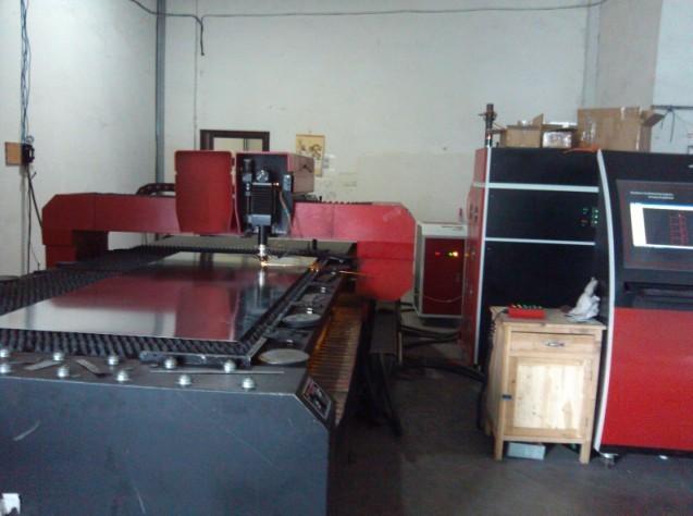Laser Cutting Area