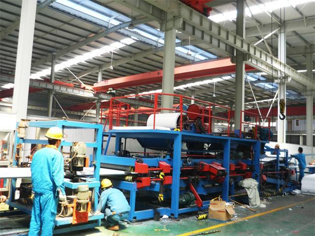 EPS Sandwich Panel Production Line