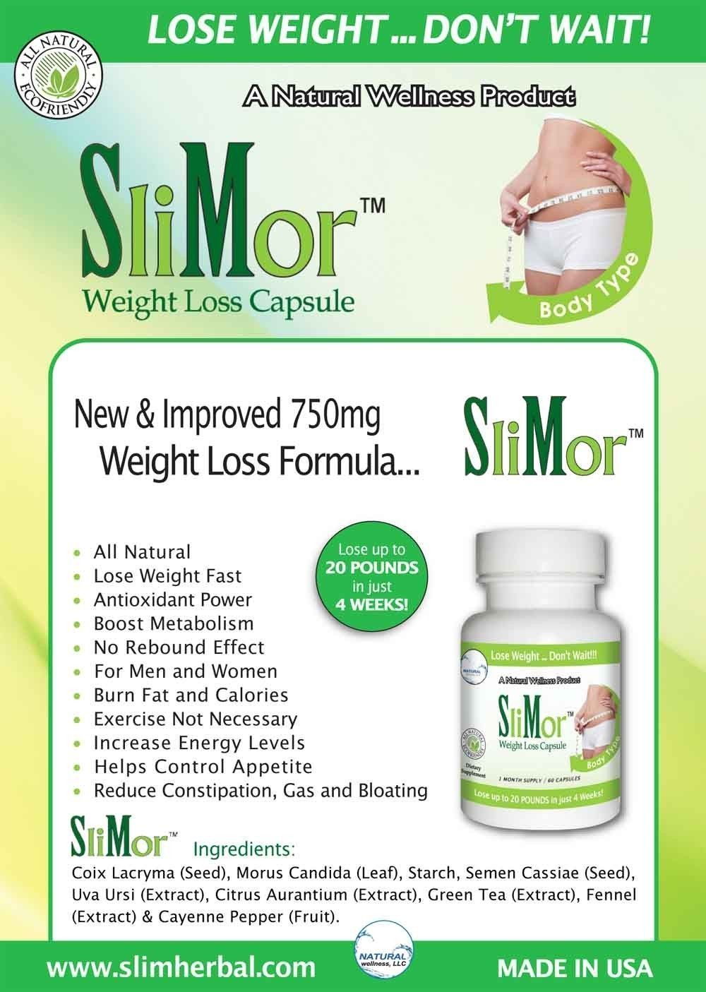 Slimor, Slimax, Slimor+ Acai - 2
