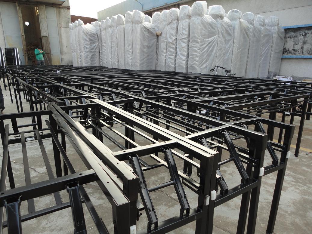 Xinyimei Furniture workshop folding table base Foshan Xinyimei