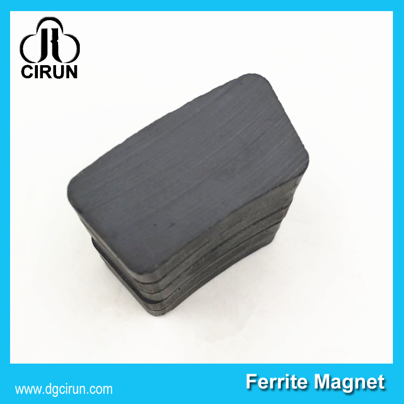 Custom Arc shape ferrite magnet for kinds of motor