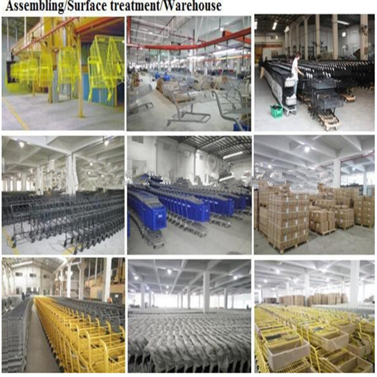 Efficient and standardized production warehouse line