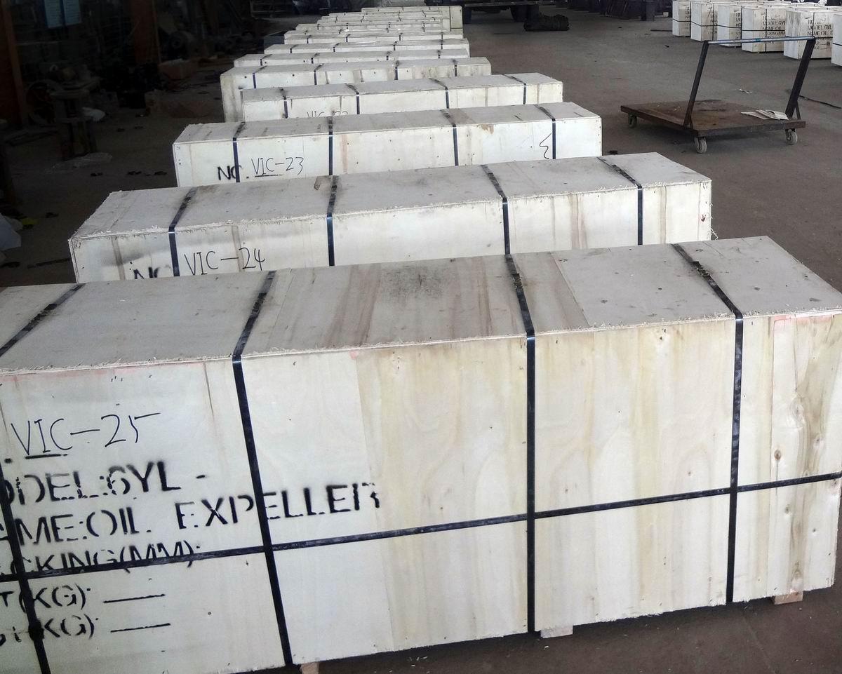 26 sets ZX-10 oil press deliverred to Sudan