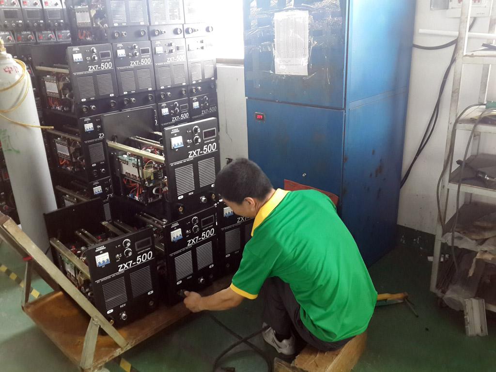 test welding