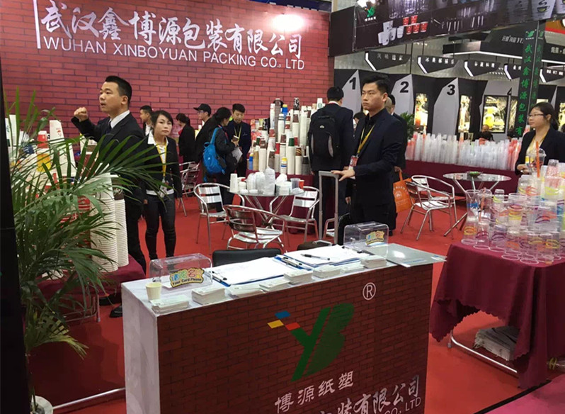 Many new Paper Cups on the HOTELEX Shanghai