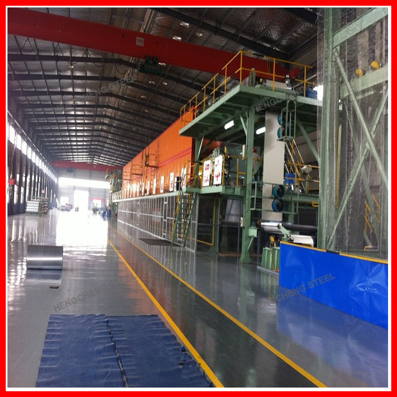 PPGI/PPGL Steel Coils Production Line