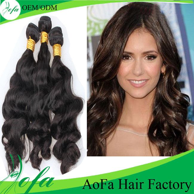 2015 Crazy Hot Sale Brazilian Body Wave Virgin Hair Extension