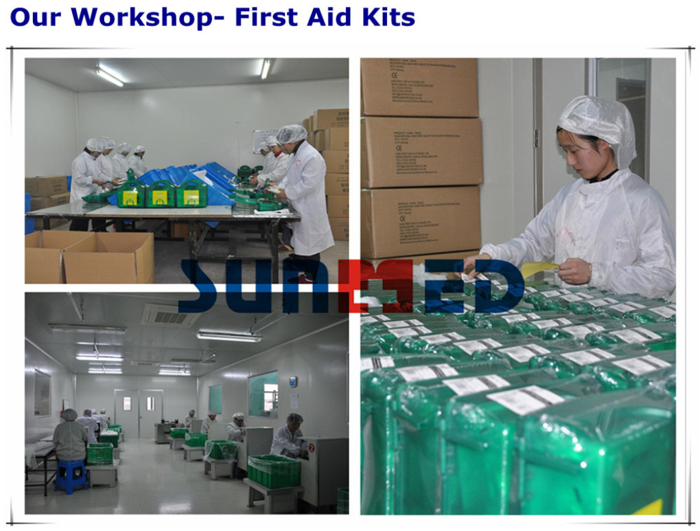 our workshop-first aid kits