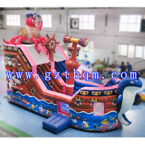 Pirate Ship Inflatable Bouncer/Children Bouncer Castle/Inflatable Slide Bouncer