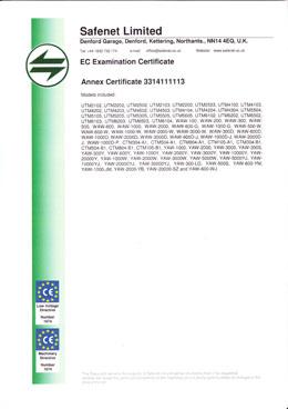 EC Certificate - 3