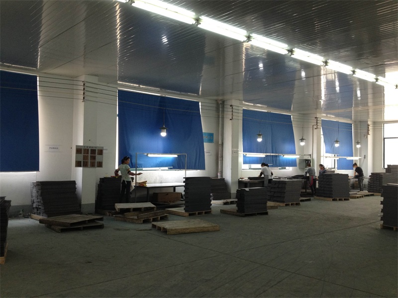 PVC Flooring & Vinyl Tile QC Area