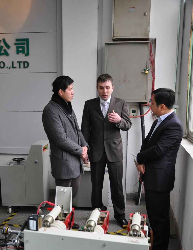 Customer Visit Us on Feb. 28th., 2012