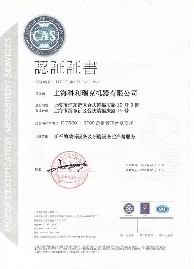 Clirik ISO Certification