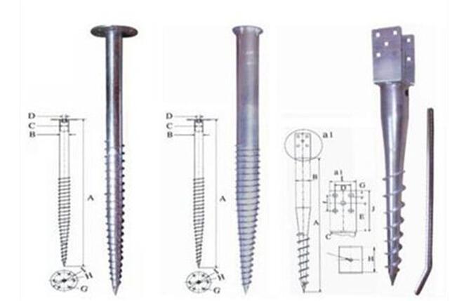 PV solar mounting ground screw