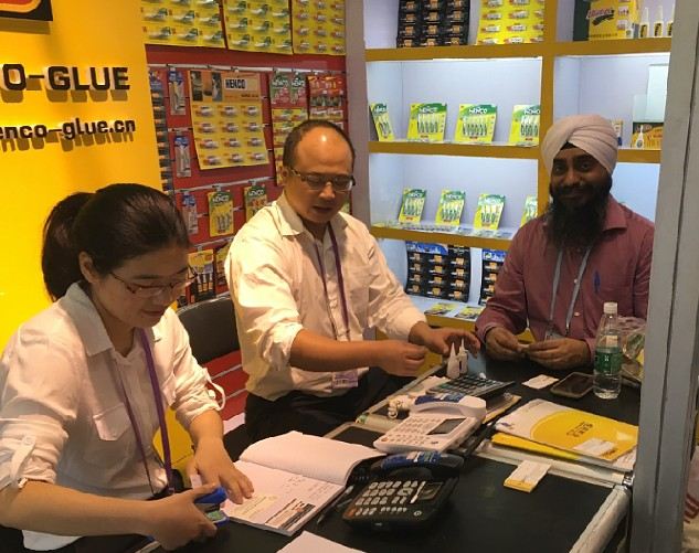 Meeting at Canton fair