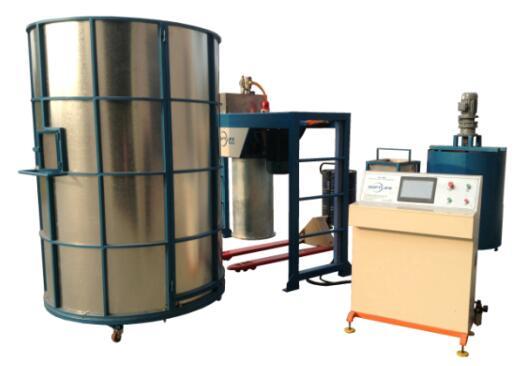 Semi-auto foaming machine