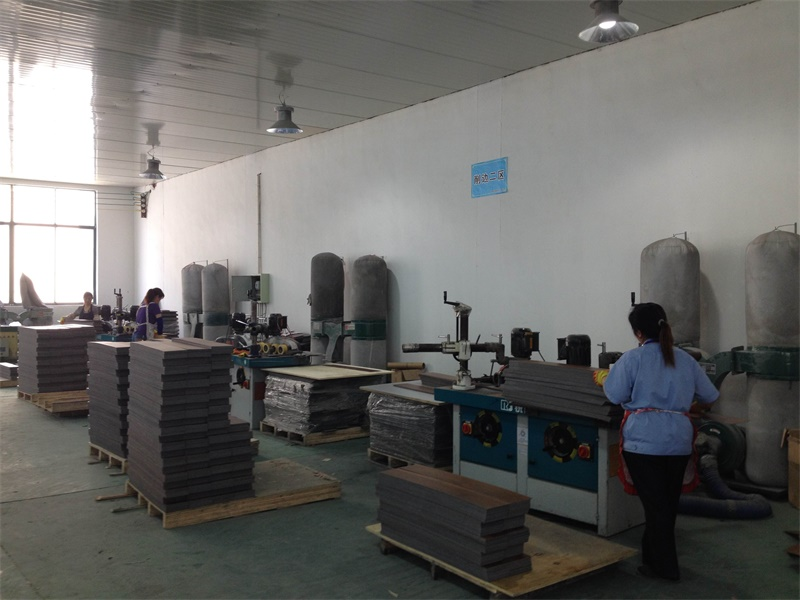 PVC Flooring & Vinyl Tile Cutting Area