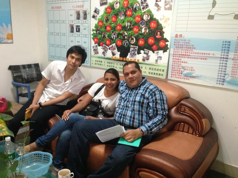 Venezuela customer visit
