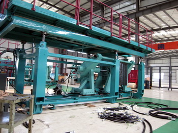big blow molding machine body frame