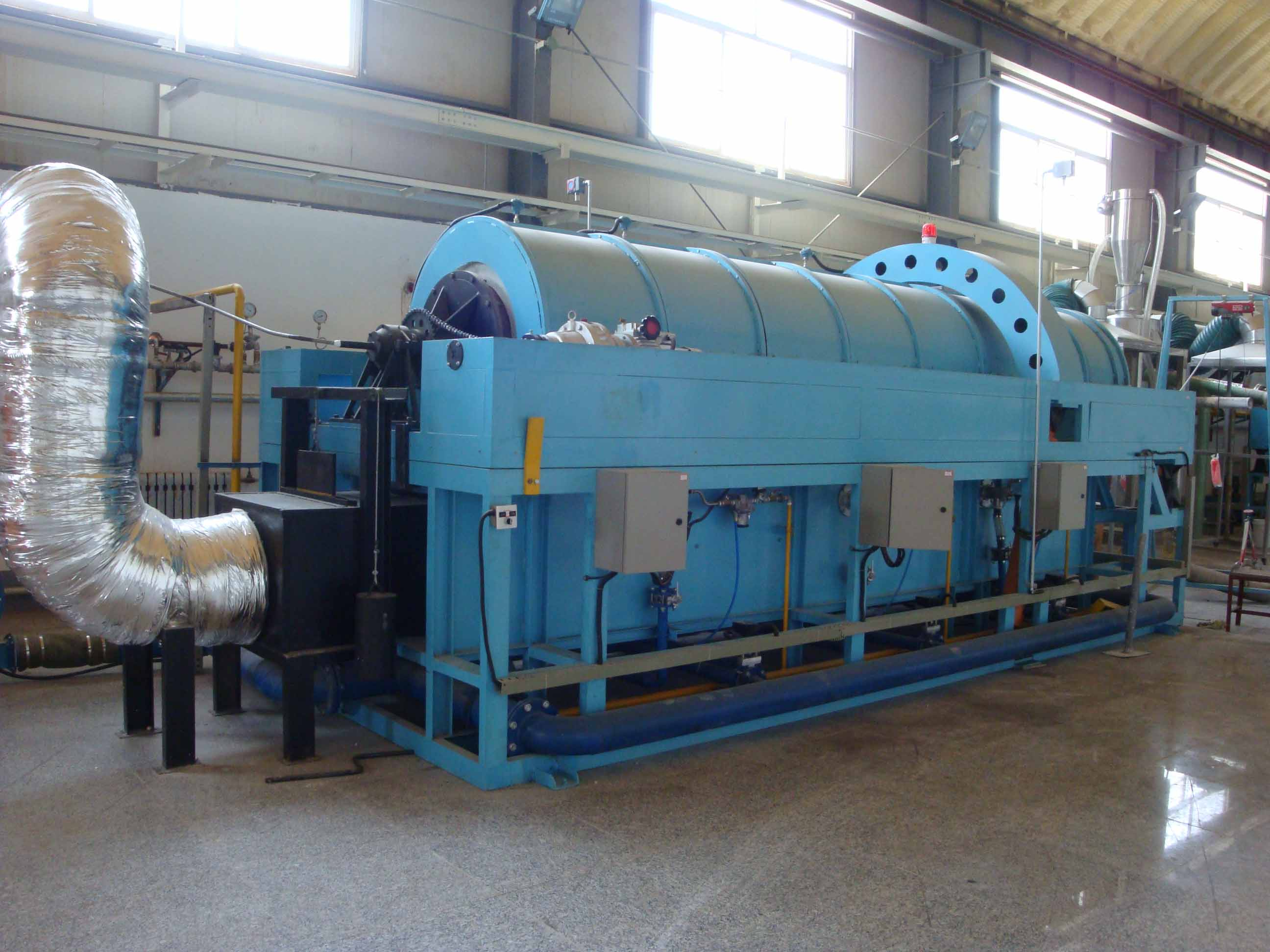 rotating furnace
