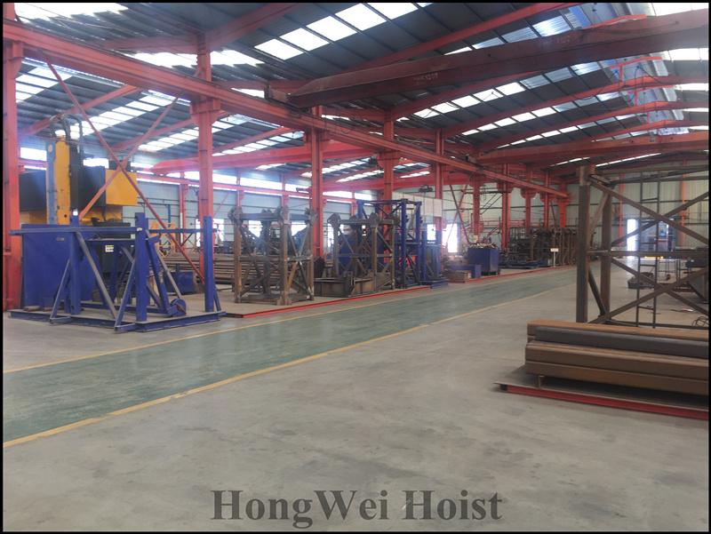 Parts processing area