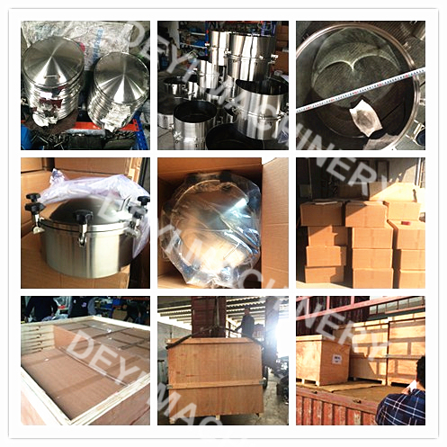 Stainless steel manholes exported to USA on 4th April 2016
