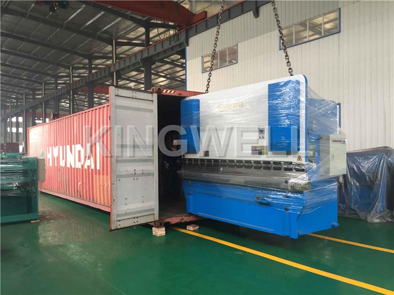 Deliver to Bangladesh WC67Y-160TX3200 press brake