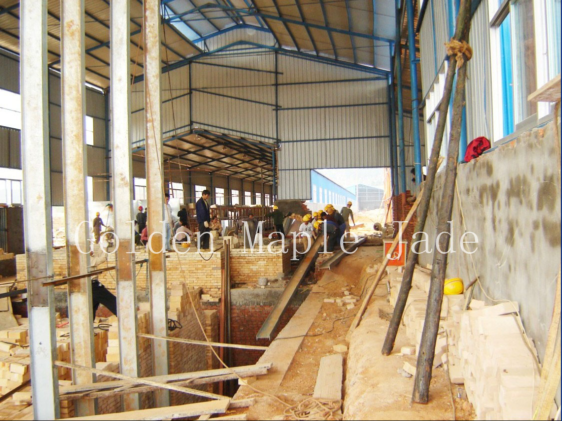 The process of under construction with the 3rd production line
