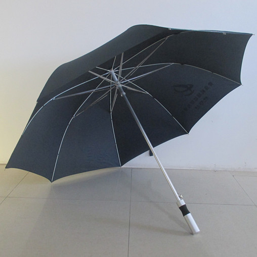 Aluminum shaft and handle High-end golf umbrella for promotional use
